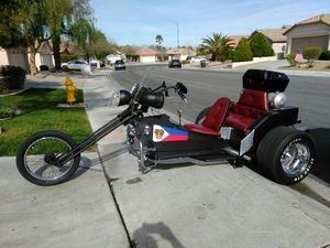 Special construction VW 1600 dual port single carb..Springer trike....trade for a Harley bagger or Ducati sports bike or BMW car and motorcycle for Sale in Las Vegas, NV