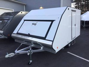"2021 Mission 12'x101"" enclosed hybrid crossover trailer will trade for Sale in Westford, MA"