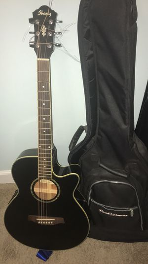 Acústico and electric Ibanez guitar for Sale in McLean, VA