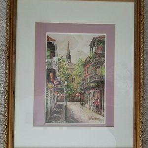 Custom Frame Picture Of New Orleans for Sale in Land O' Lakes, FL
