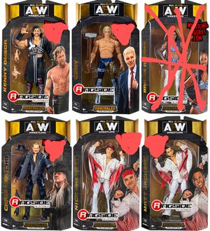 New Lot of 5 AEW Action Figures. for Sale in Apopka, FL