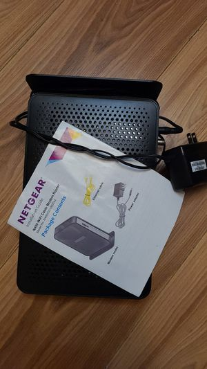 Netgear n450 wifi cable modem router for Sale in Columbus, OH