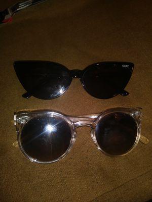 2 pairs of designer quay sunglasses for Sale in Indianapolis, IN