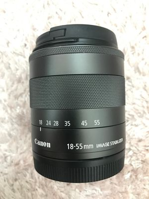 Canon 18 - 55 mm for lens - like new for Sale in San Diego, CA