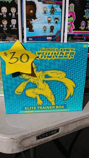 Pokemon Lost Thunder Elite Trainer Box for Sale in Compton, CA