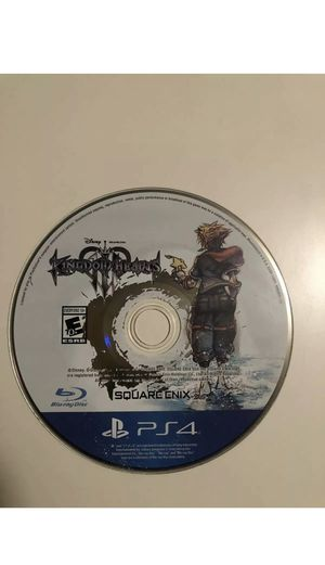 Kingdom Hearts 3 Disc Only for Sale in Phoenix, AZ
