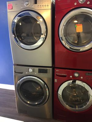 LG dryer kenmore washer set in excellent condition for Sale in Baltimore, MD