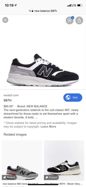 New balance 997: Mens 11 New make me an offer! for Sale in Santa Ana, CA