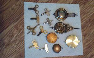 Clock windup Keys Ant eat and Pendulum each $5 for Sale in Pawtucket, RI