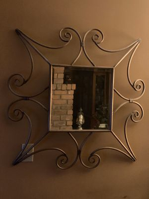 Really Nice Piece of Wall Art with a Nice, Perfectly Square Mirror in the Middle! for Sale in Phoenix, AZ