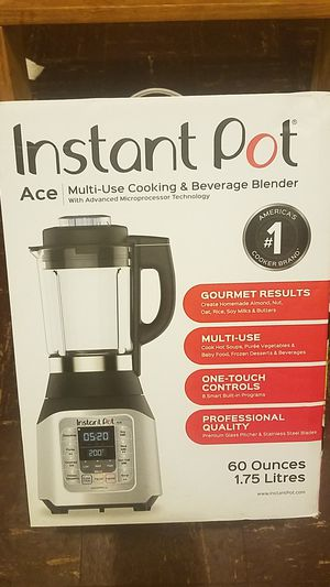 Brand New Ace 60oz Instant Pot Multi-Use Blender for Sale in Ewing Township, NJ