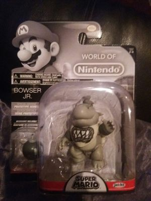 World of Nintendo Bowser Jr Prototype Figure for Sale in San Diego, CA