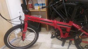 8 speed Euro mini fold-up mountain bike for Sale in Bellevue, WA