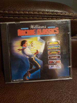WILLIAMS ARCADE CLASSICS DOS PC GAME for Sale in Chicago, IL