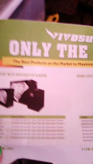 Grow tents and accessories for Sale in Las Vegas, NV
