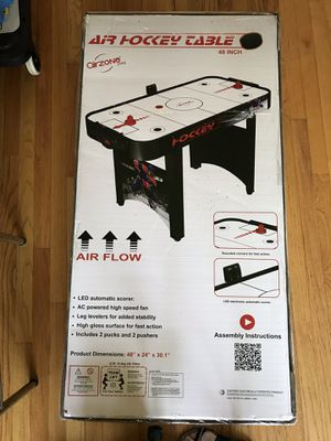 """Air Hockey Table 48"""" from Airzone Play for Sale in North Billerica, MA"""