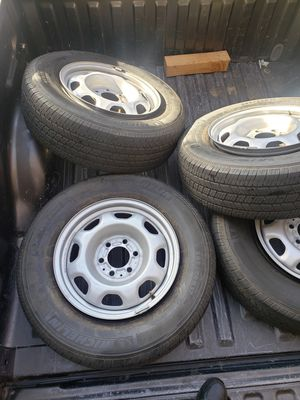STOCK Ford f150 wheels/tires for Sale in Moreno Valley, CA