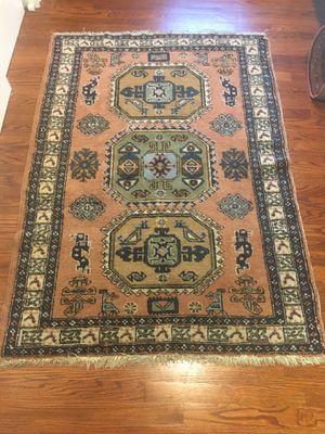 Vintage wool Turkish rug for Sale in Franklin Lakes, NJ