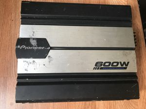 Pioneer Amp for Sale in Waterbury, CT