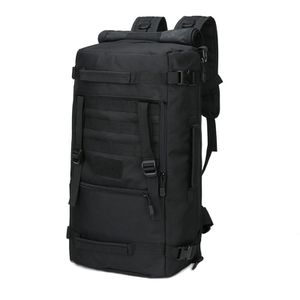 Black Tactical Backpack 60L Converts To Duffel Bag for Sale in Clackamas, OR