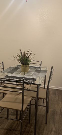 Glass dining set for Sale in Fresno,  CA