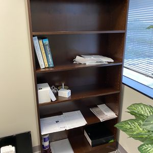 Wood Book Shelf Office Furniture for Sale in Houston, TX