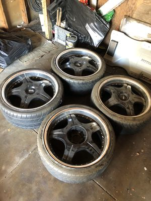 19 inch Axis Rims and tires for Sale in Los Angeles, CA