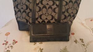 Coach bag with wallet for Sale in Annandale, VA
