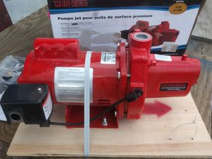 Red Lion Shallow Well Jet Pump for Sale in Modesto, CA