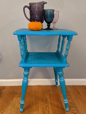 Blue coastal accent table for Sale in Lanoka Harbor, NJ