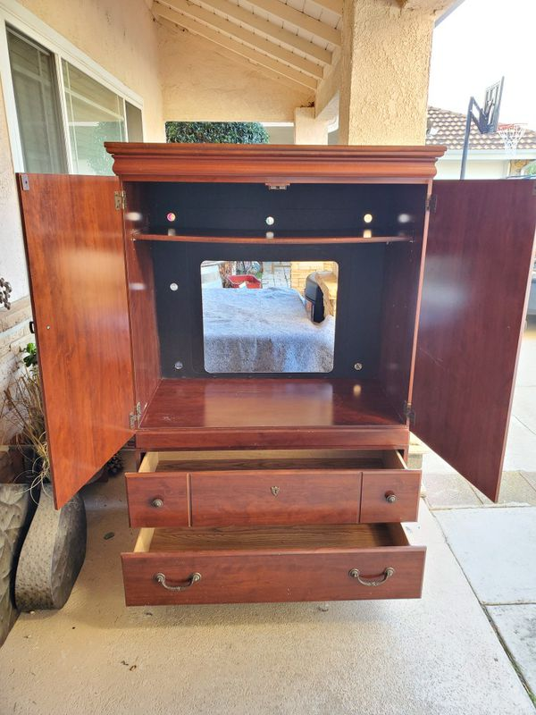 Cherry TV armoir