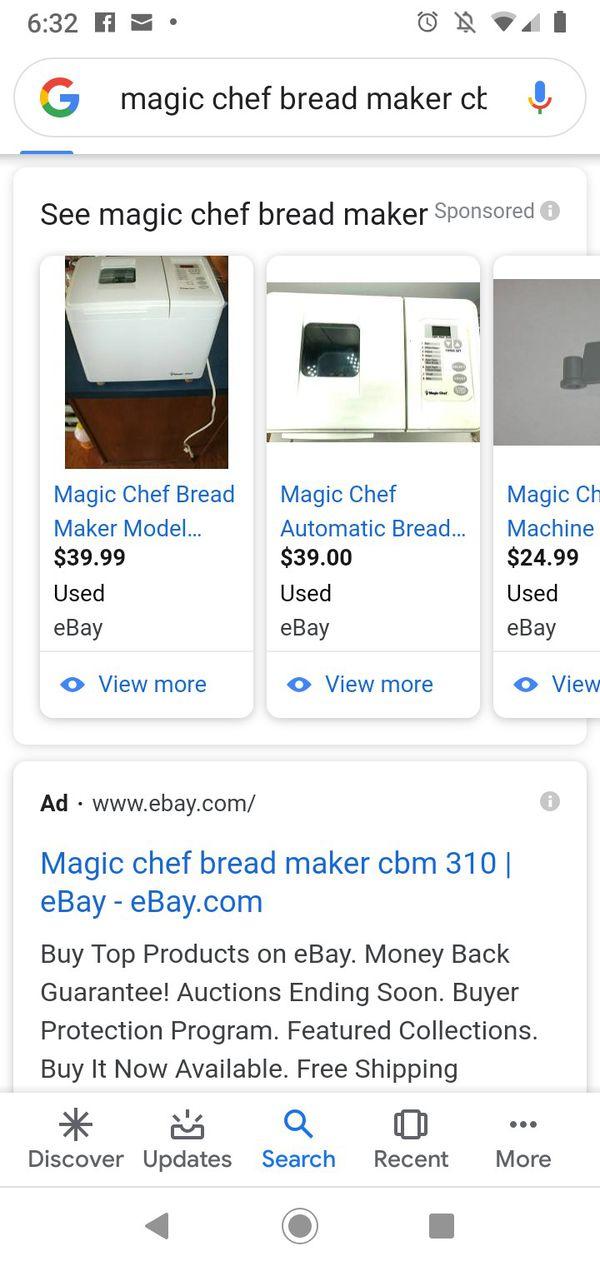 Magic Chef fresh bread maker