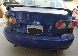 Original Mazda 6 Trunk Spoiler with LED 3rd brake light. Very good condition. for Sale in Anaheim, CA