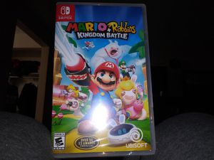 MARIO + RABBIDS KINGDOM BATTLE FOR NINTENDO SWITCH for Sale in Eugene, OR