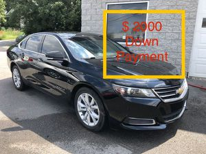 2016 Chevy Impala $ 2000 Down Payment for Sale in Nashville, TN