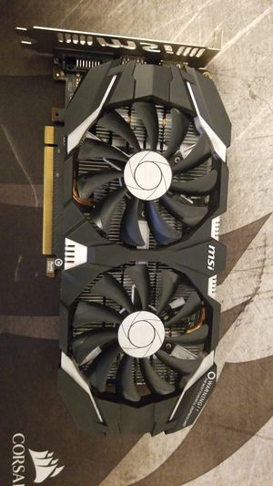 MSI GTX 1060 Gaming Graphics Card for Sale in North Bellmore, NY