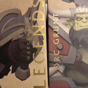 25th Anniversary Orc Grunt And Human Footman ~ Blizzcon 2019 Exclusive Sealed Never Opened for Sale in Fountain Valley, CA