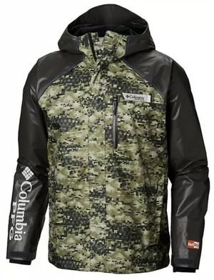 Columbia PFG Terminal OutDry Hybrid Jacket Waterproof Fishing Shell - Size XXL for Sale in San Antonio, TX