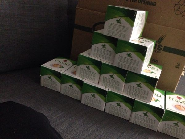 Not available ** 12 Boxes of Truvia. Please See All The Pictures and Read the description