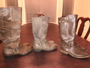 Girls Brown Boots for Sale in Kent, WA