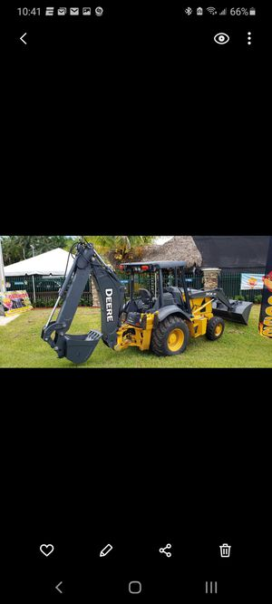 2014 John Deere 310K 4WD Backhoe Wheel Loader w/Extended Boom (Like New) for Sale in Miami, FL