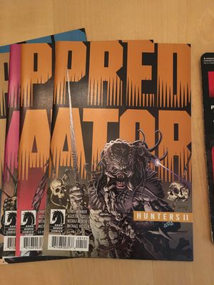 Predator comics plus action figure for Sale in Pittsburgh, PA