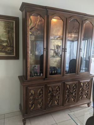 Antique China Cabinet for Sale in Irvine, CA
