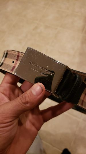 Burberry belt for Sale in Apex, NC