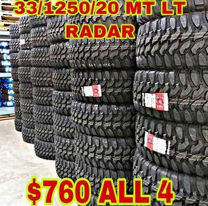 MUD TERAIN MT LT ALL 4 33125018 for Sale in Scottsdale, AZ