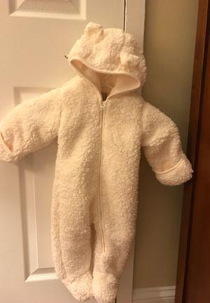 The Children's Place- fleece bear baby girl snowsuit for Sale in Jenkintown, PA
