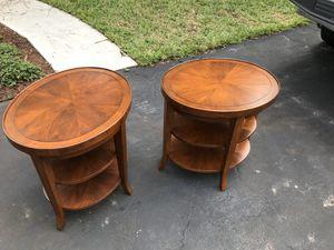 Century furniture side table - set of 2 for Sale in Deerfield Beach, FL