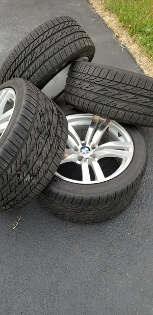 BMW M6 Rims (fits X5) and Tires for Sale in Lake Arbor, MD