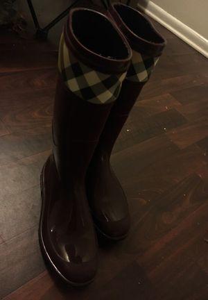 Burberry rain boots for Sale in Greensboro, NC
