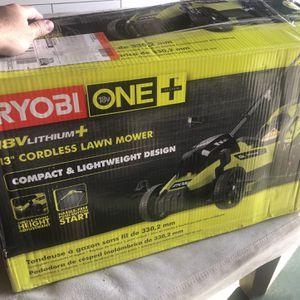 Ryobi Lawn Mower New In Box for Sale in Pomona, CA
